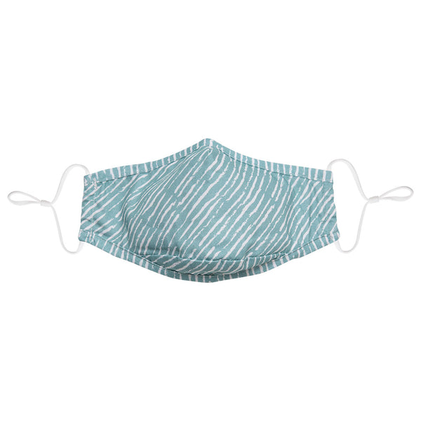 Cocktail/Seafoam Stripe/Tie Dye Face Mask 3 Pack + 6 Filters