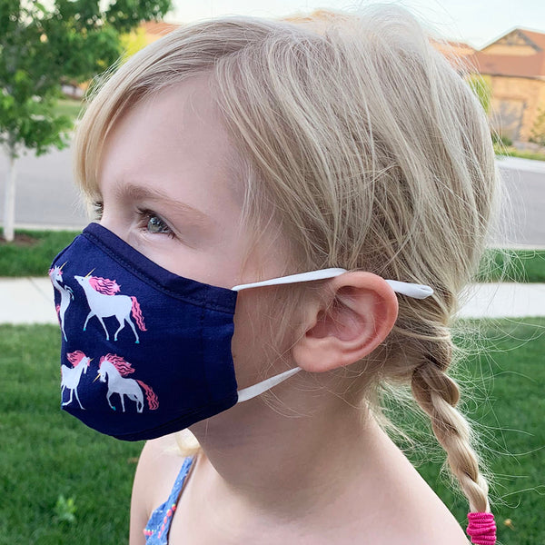 Kid Fun Printed Face Cover + 2 Filters