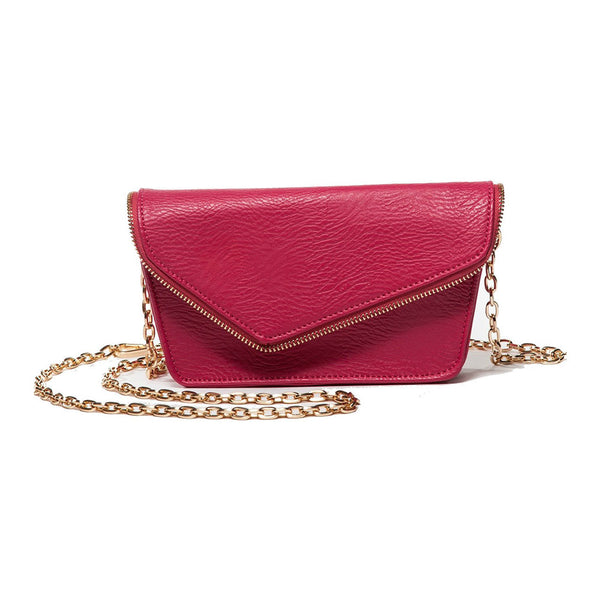Alexia Fuchsia Crossbody and Belt Bag (RFID-Blocking)