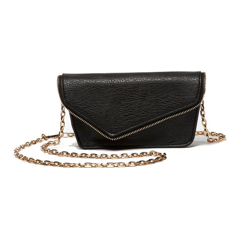 Alexia Black Crossbody and Belt Bag (RFID-Blocking)