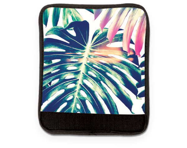 Colorful Palm Luggage Handle Wrap