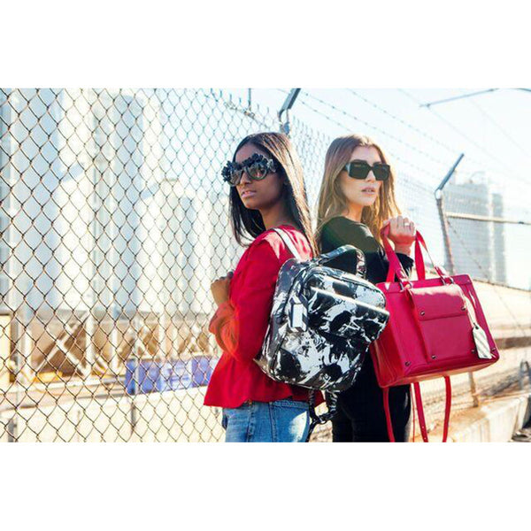 Josslyn Red Backpack