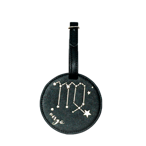 Virgo Celestial Zodiac Luggage Tag