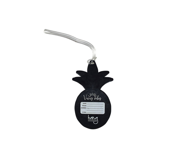 Pineapple Silicone Luggage Tag