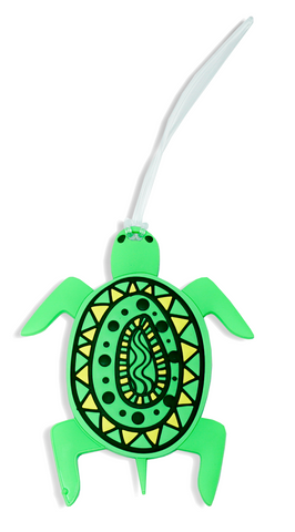 Sea Turtle Silicone Luggage Tag