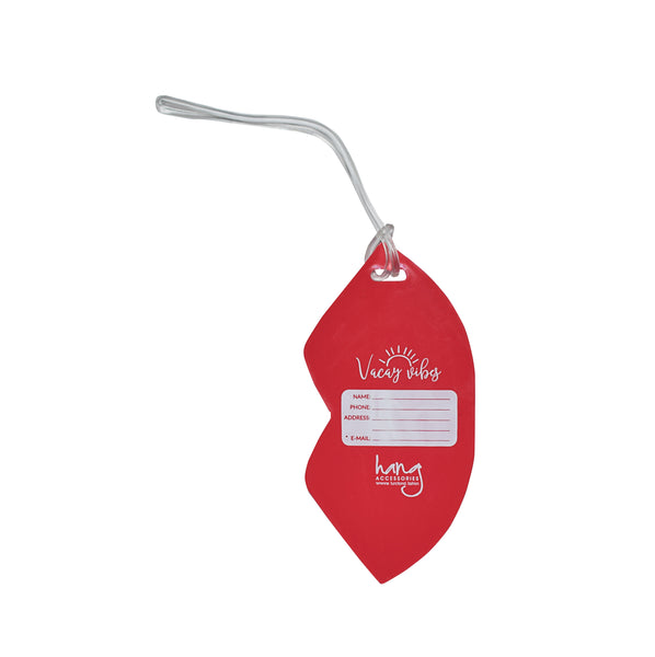 Lips Kiss Luggage Tag