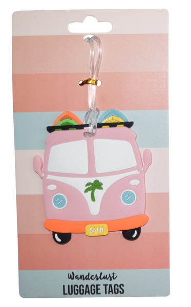 VW Bus  Luggage Tag