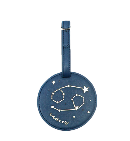 Cancer Celestial Zodiac Luggage Tag