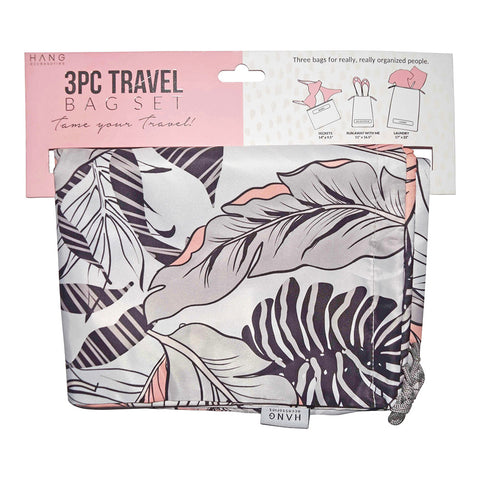 Leaf 3 Piece Travel Bag Set
