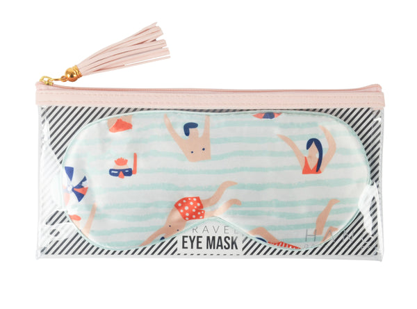 Swimmers Satin Travel Eye Mask