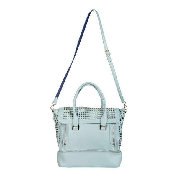 Zadie Blue Gym-to-Work Tote