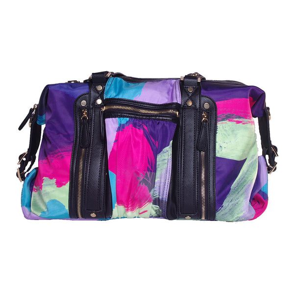 Paint Print Athleisure Yoga Tote Bag