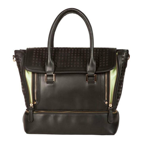 Zadie Black Gym-to-Work Tote