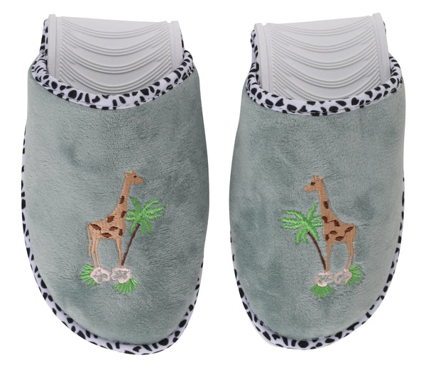 Giraffe Foldable Travel Slippers