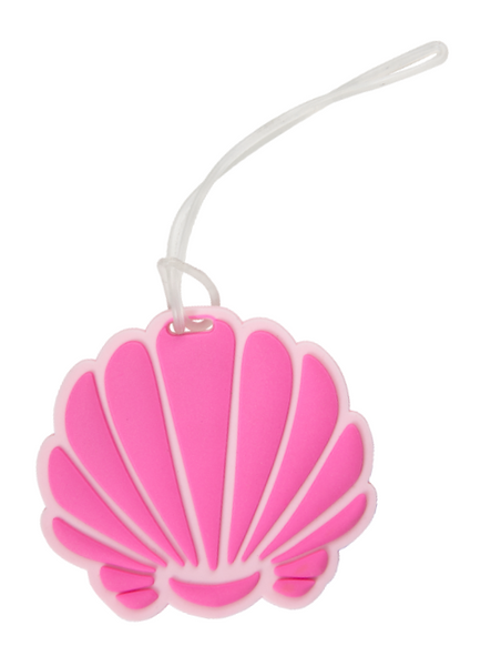 Sea Shell Silicone Luggage Tag