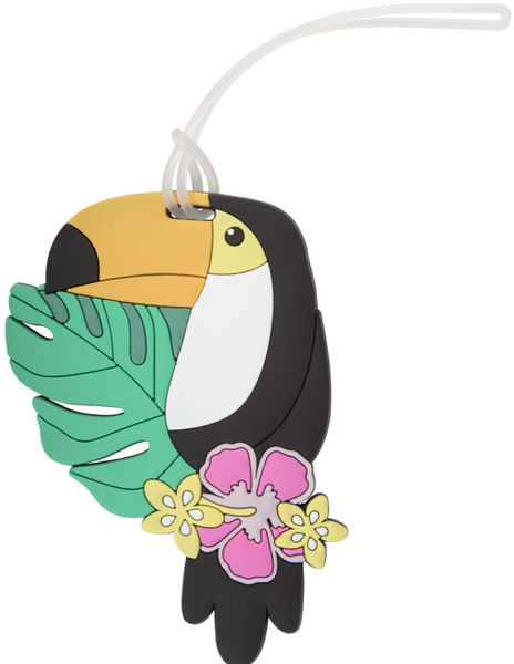Toucan Silicone Luggage Tag