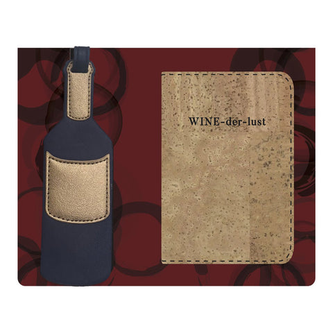 Wine-der-lust 3 Piece Travel Set