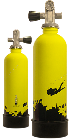 Innovative Scuba Concepts TankH20 Stainless Steel Water Bottle