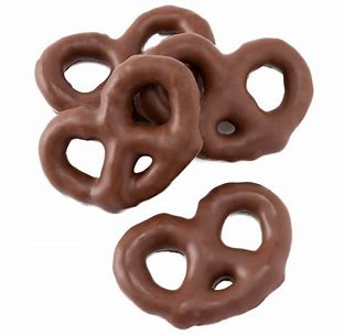 Mini Chocolate Pretzels