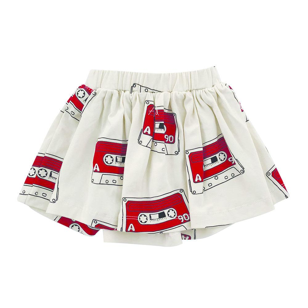 Anarkid Organic Cotton Mix Tape Skirt - Naked Baby Eco Boutique
