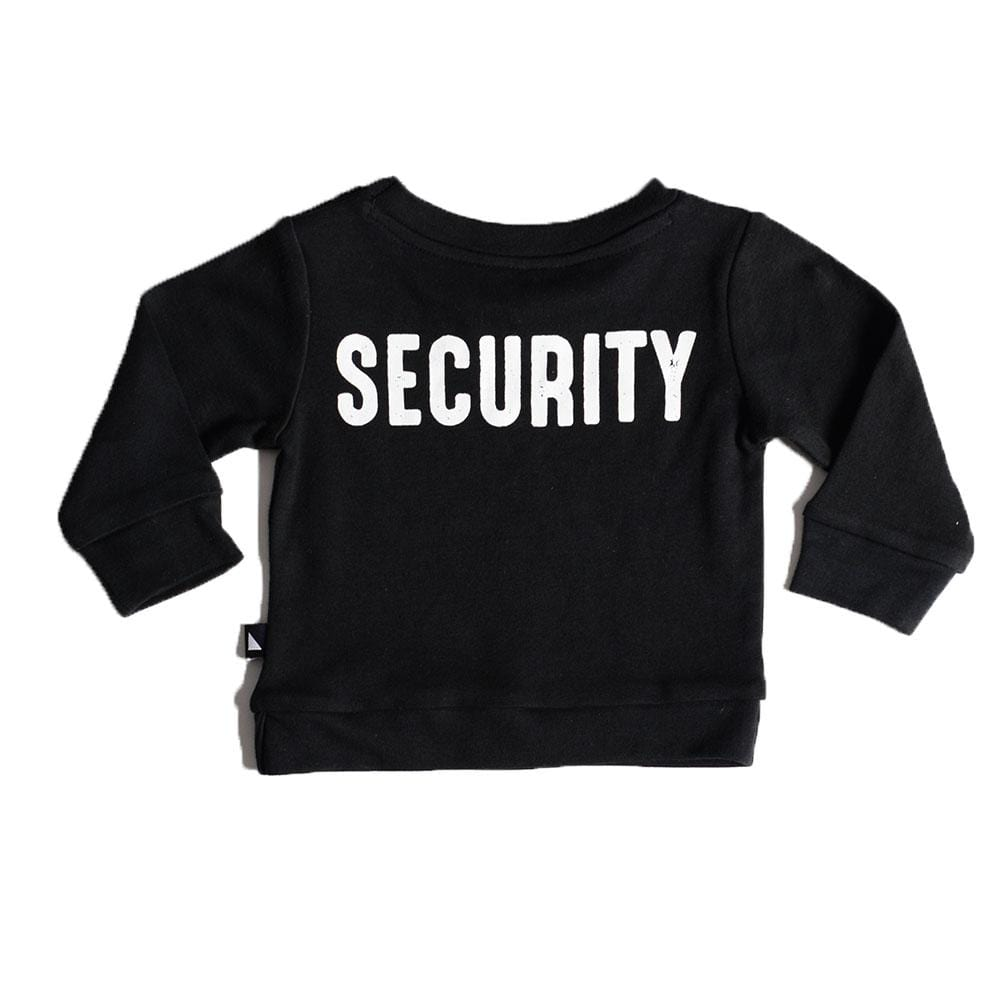 PRE-ORDER: Anarkid Organic Cotton Security Sweater - Naked Baby Eco Boutique