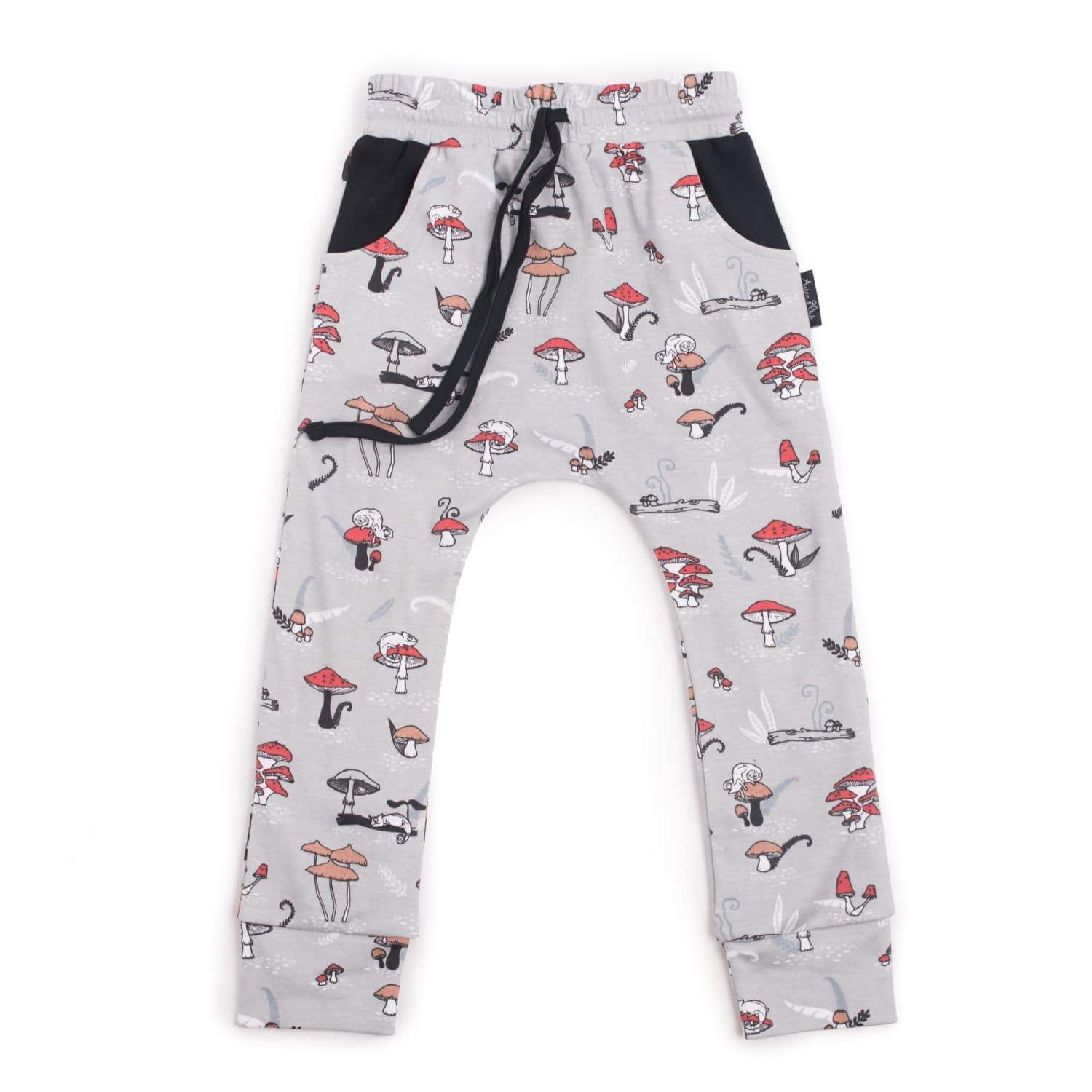 PRE-ORDER: Aster & Oak Organic Cotton Chameleon Harem Pants - Naked Baby Eco Boutique