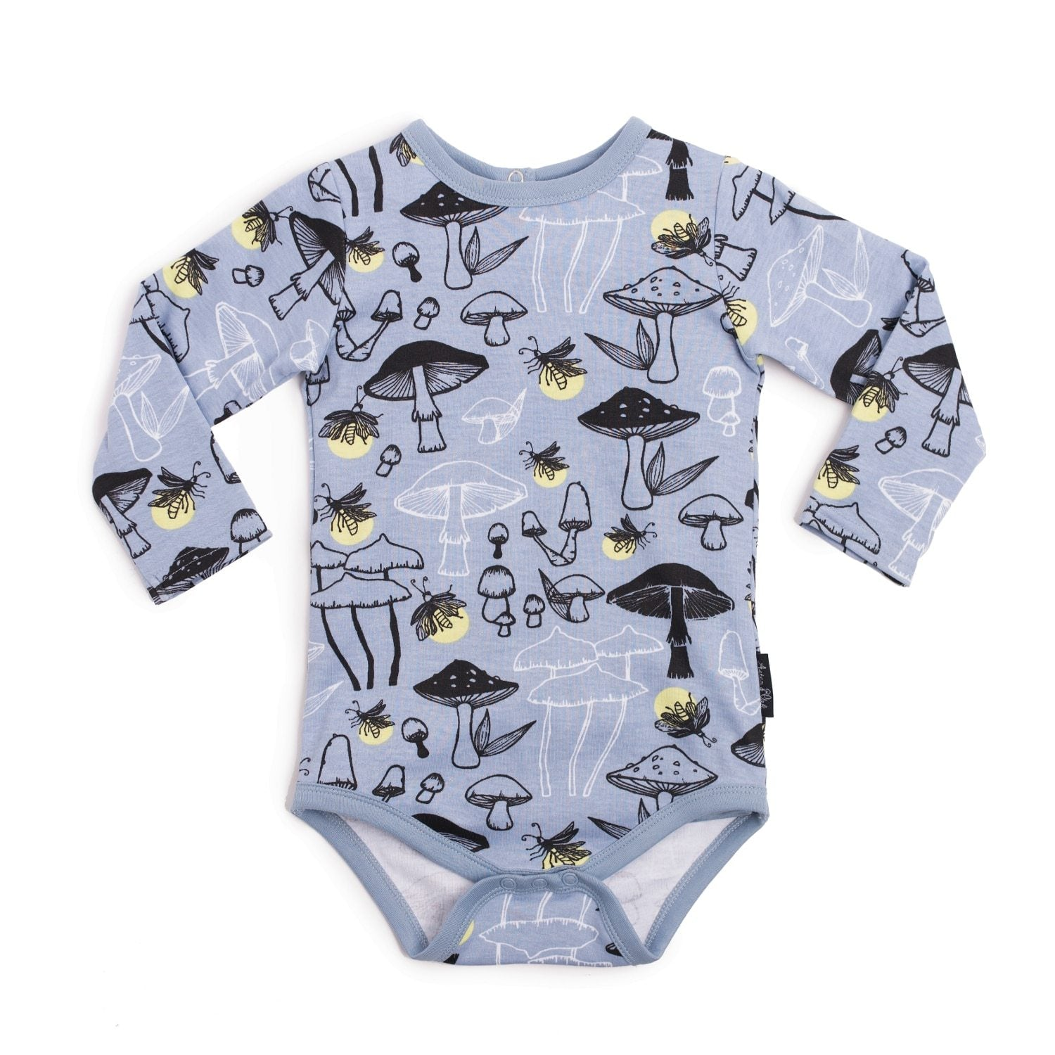 Aster & Oak Organic Cotton Firefly AOP Onesie - Naked Baby Eco Boutique
