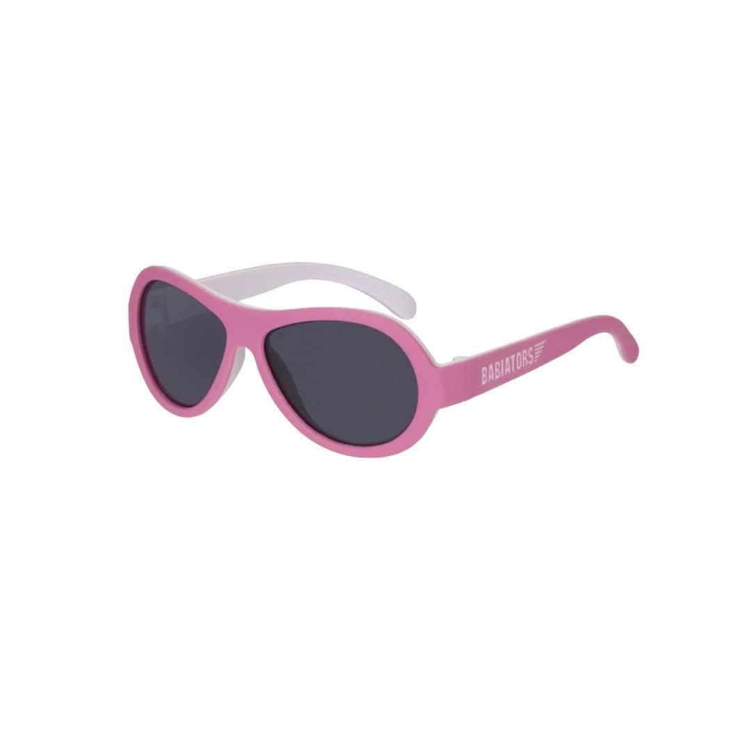 Tickled Pink (Two-Tone) / Junior (0 - 2 Years) Original Babiators Baby & Kids Sunglasses (Multiple Variants) - Naked Baby Eco Boutique
