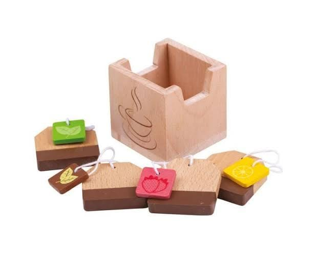 BigJigs Tea Bags Play Food - Naked Baby Eco Boutique