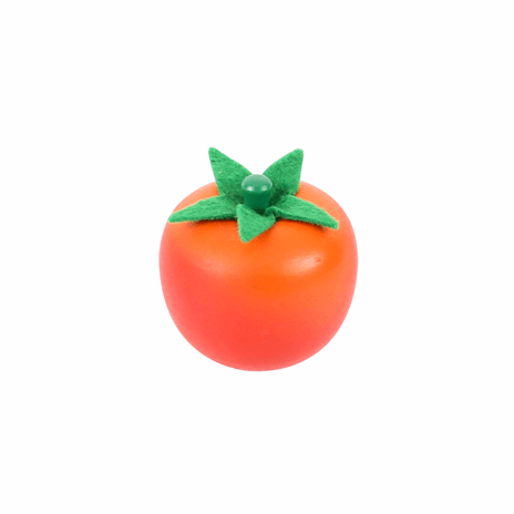BigJigs Tomato Wood Play Food - Naked Baby Eco Boutique