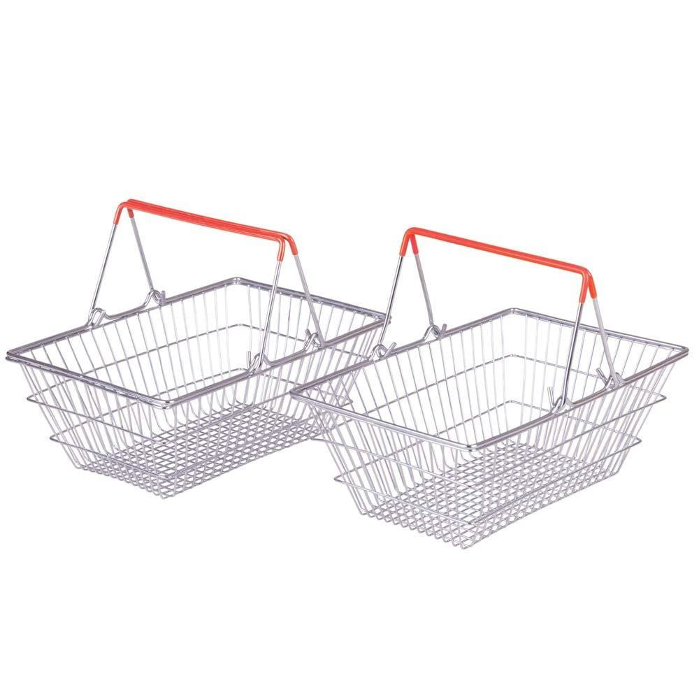 BigJigs Metal Grocery Basket - Naked Baby Eco Boutique