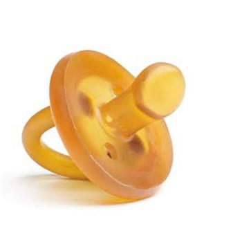 0-6 Months / Single Ecopiggy Natural Rubber Orthodontic Pacifier (Multiple Variants) - Naked Baby Eco Boutique