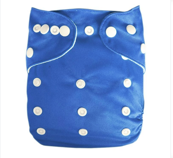 Express the Best Cloth Re-usable Nappy Pack -  Bright Blue - Naked Baby Eco Boutique