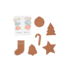 PRE-ORDER: Fabelab DIY Felt Gingerbread Cookies Craft Kit - Naked Baby Eco Boutique