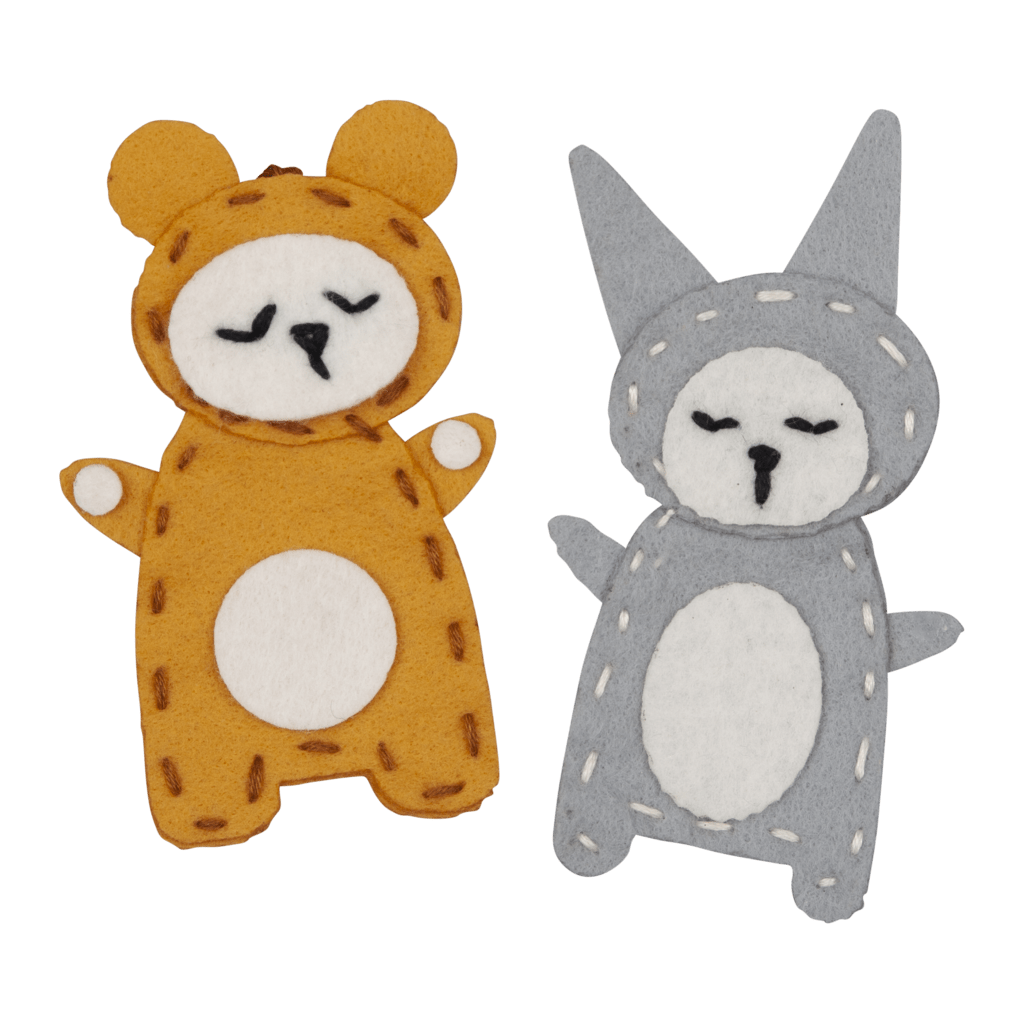 Bear + Bunny PRE-ORDER: Fabelab Mini Maker DIY Charm Craft Kit (Multiple Variants) - Naked Baby Eco Boutique