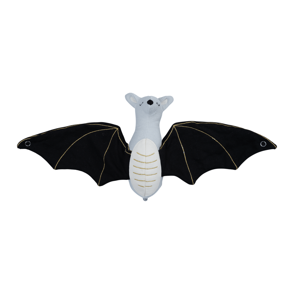 PRE-ORDER: Fabelab Organic Cotton Bat Baby Rattle - Naked Baby Eco Boutique