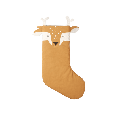 PRE-ORDER: Fabelab Organic Cotton Animal Christmas Stockings (Multiple Variants) - Naked Baby Eco Boutique