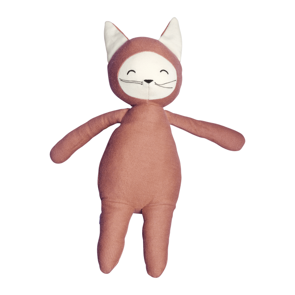 PRE-ORDER: Fabelab Organic Cotton Buddy Soft Toys (Multiple Variants) - Naked Baby Eco Boutique