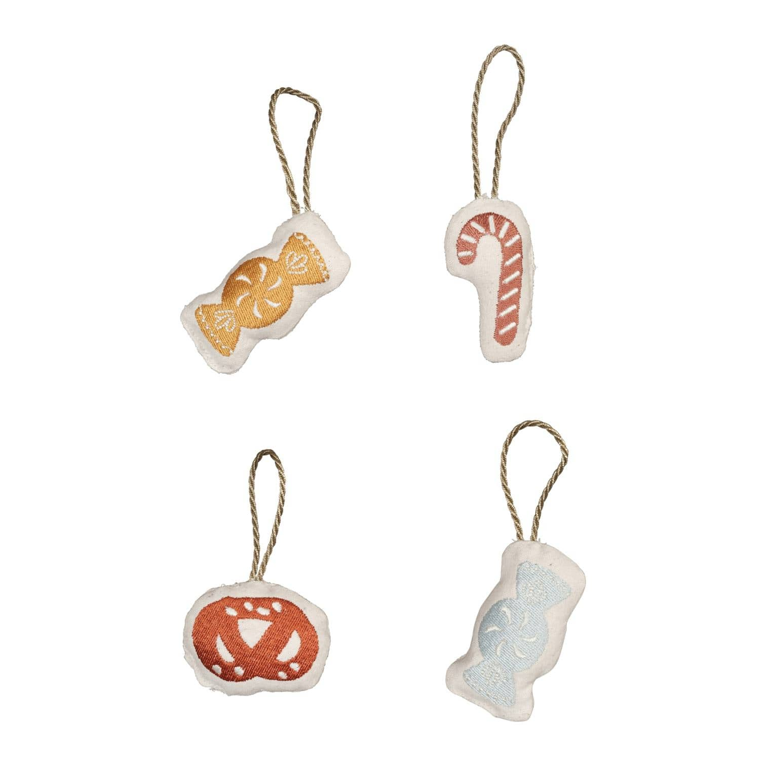 Candy Fabelab Organic Cotton Christmas Ornament Sets (Multiple Variants) - Naked Baby Eco Boutique