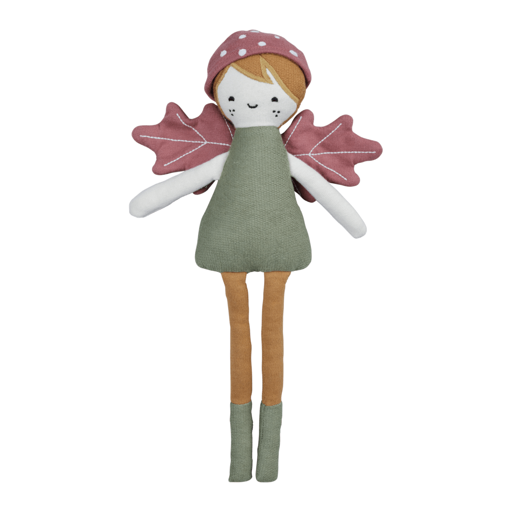 Fabelab Organic Cotton Forest Elf Doll - Naked Baby Eco Boutique