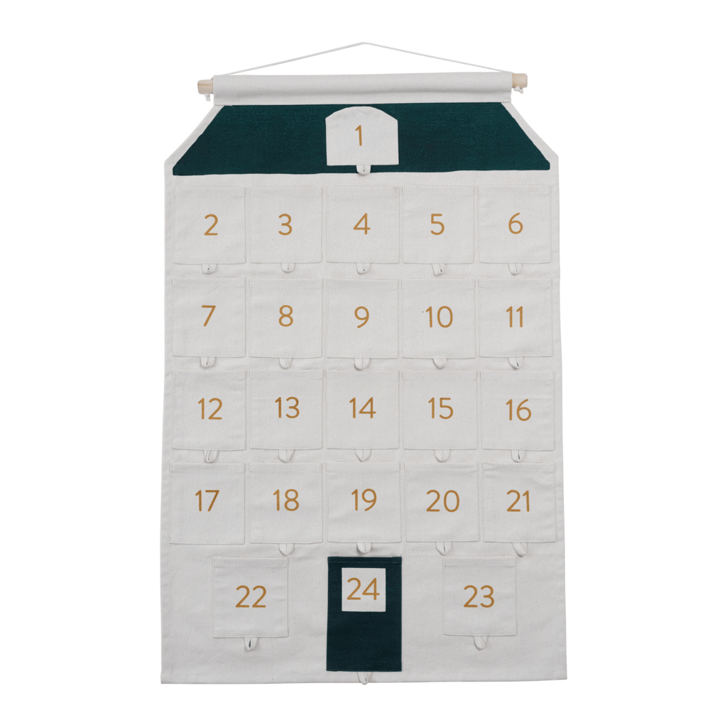 PRE-ORDER: Fabelab Organic Cotton House Advent Calendar - Naked Baby Eco Boutique