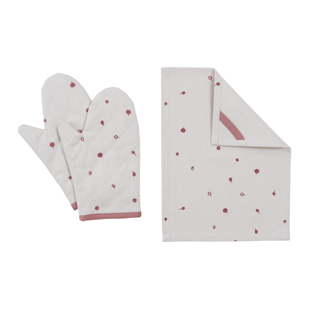 PRE-ORDER: Fabelab Organic Cotton Kids Oven Mitt Play Set (Multiple Variants) - Naked Baby Eco Boutique