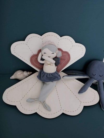 PRE-ORDER: Fabelab Organic Cotton Mermaid Doll - Naked Baby Eco Boutique