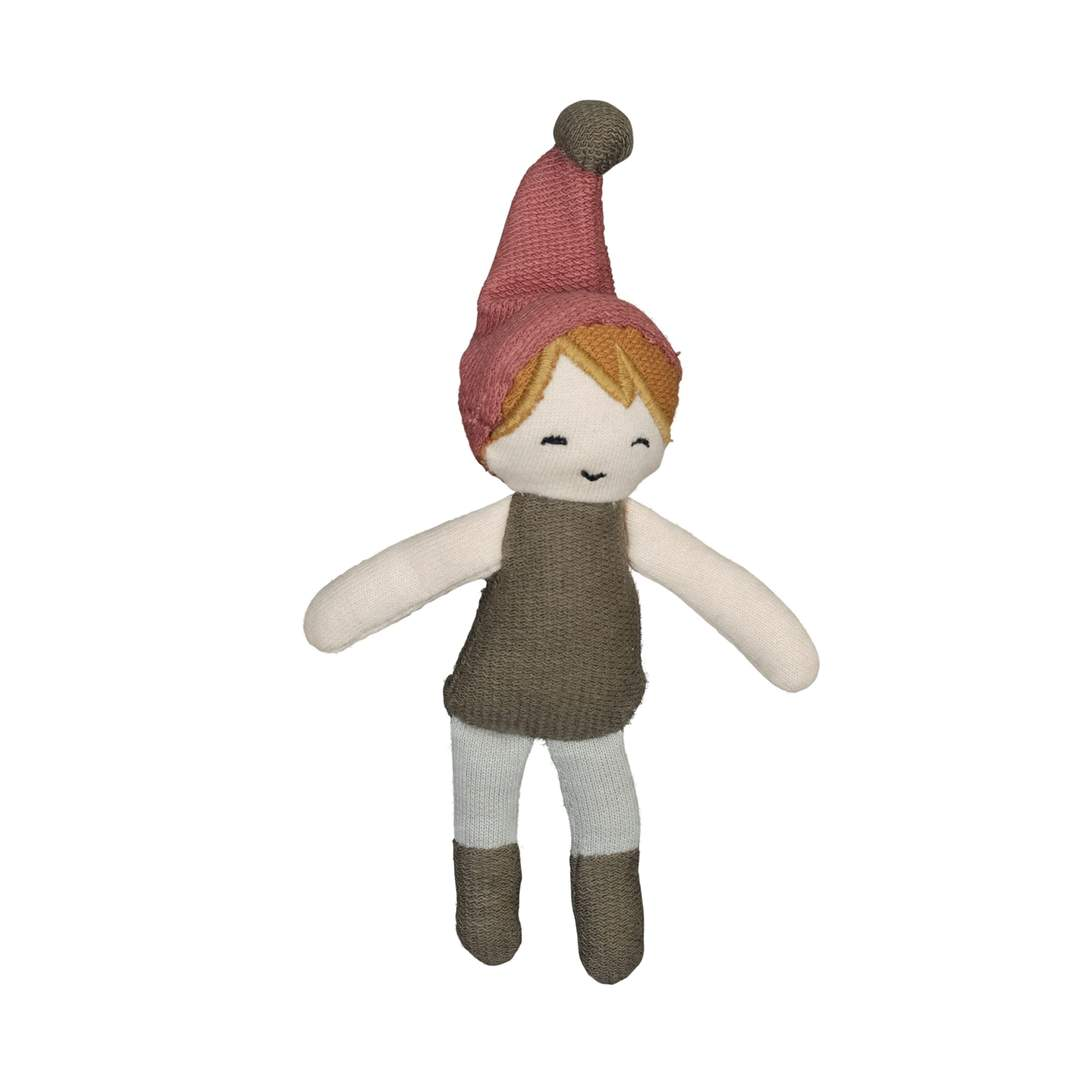 Boy Elf Fabelab Organic Cotton Mini Christmas Dolls (Multiple Variants) - Naked Baby Eco Boutique