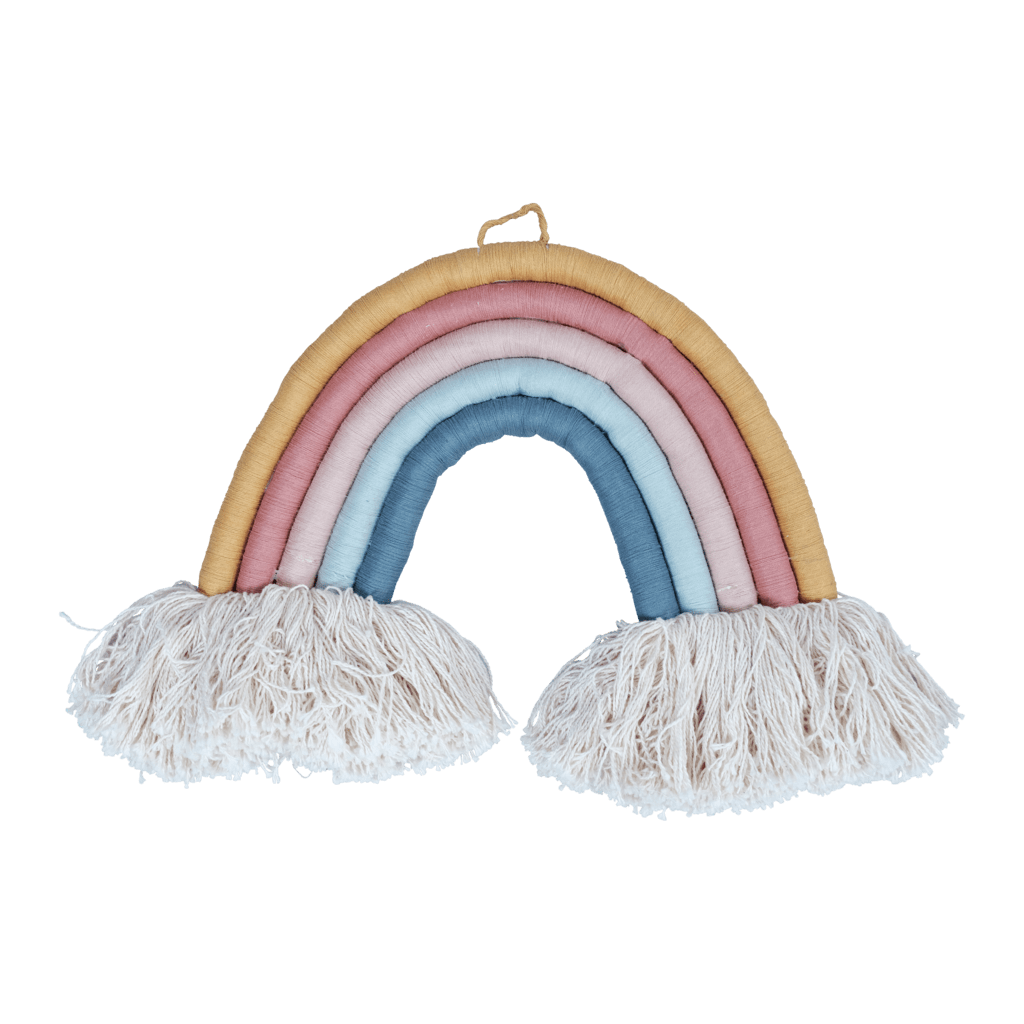 Fabelab Organic Cotton Rope Rainbow Wall Hanging - Large - Naked Baby Eco Boutique