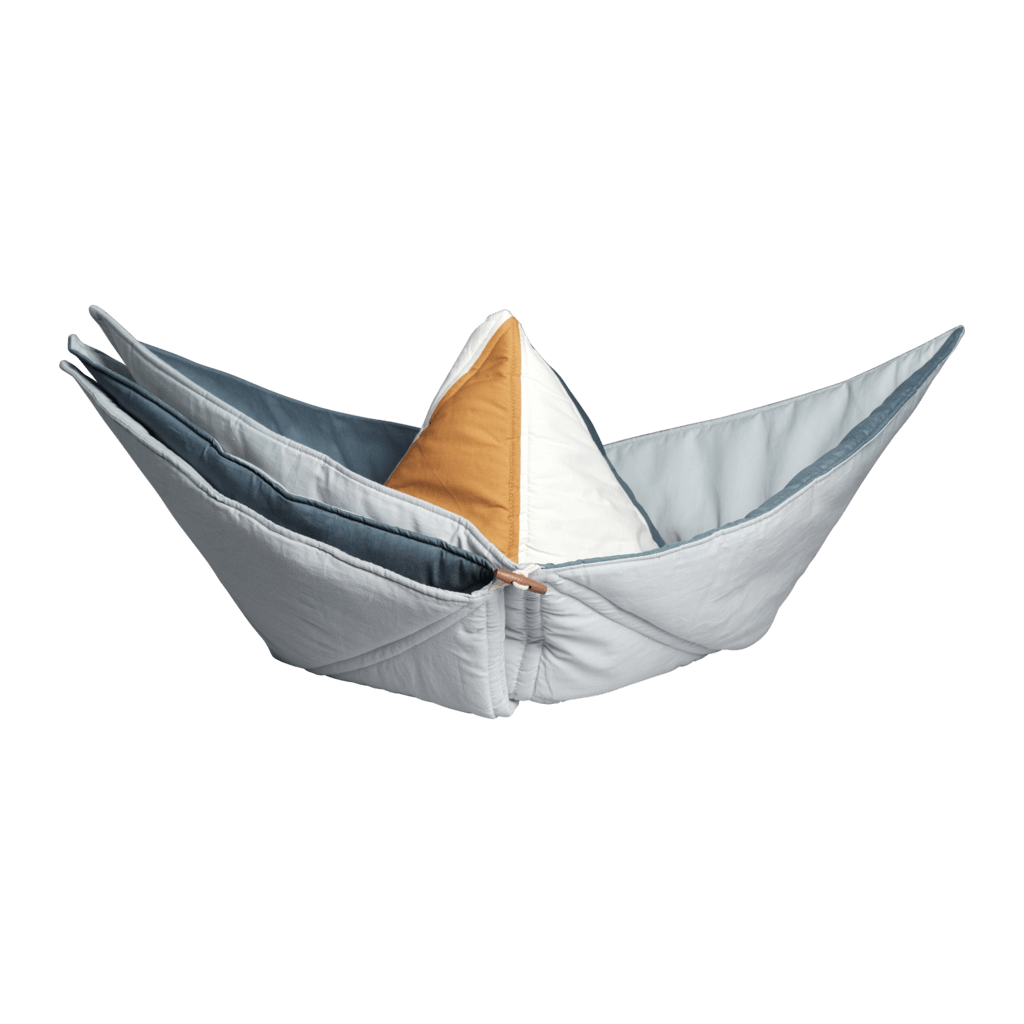 PRE-ORDER: Fabelab Organic Cotton Ship Blanket - Naked Baby Eco Boutique