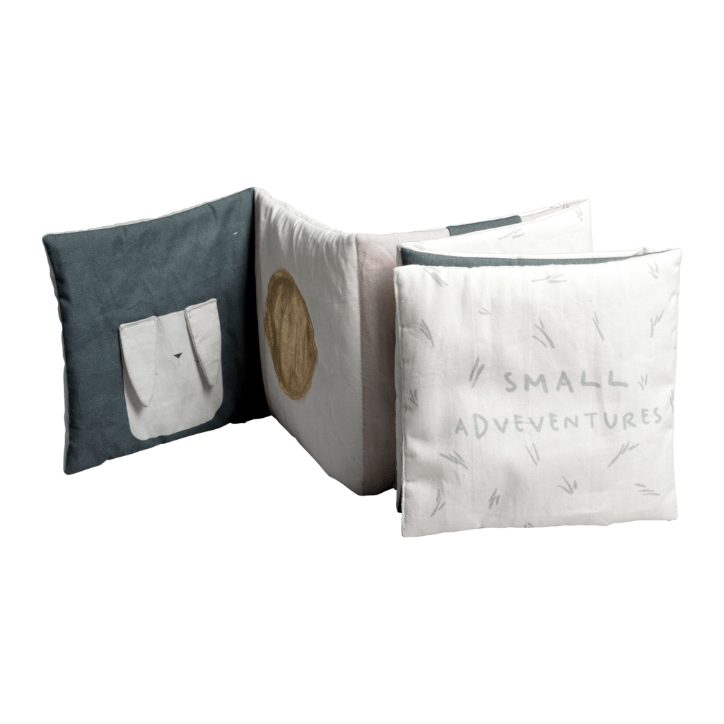 PRE-ORDER: Fabelab Organic Cotton Soft Baby Book - Naked Baby Eco Boutique