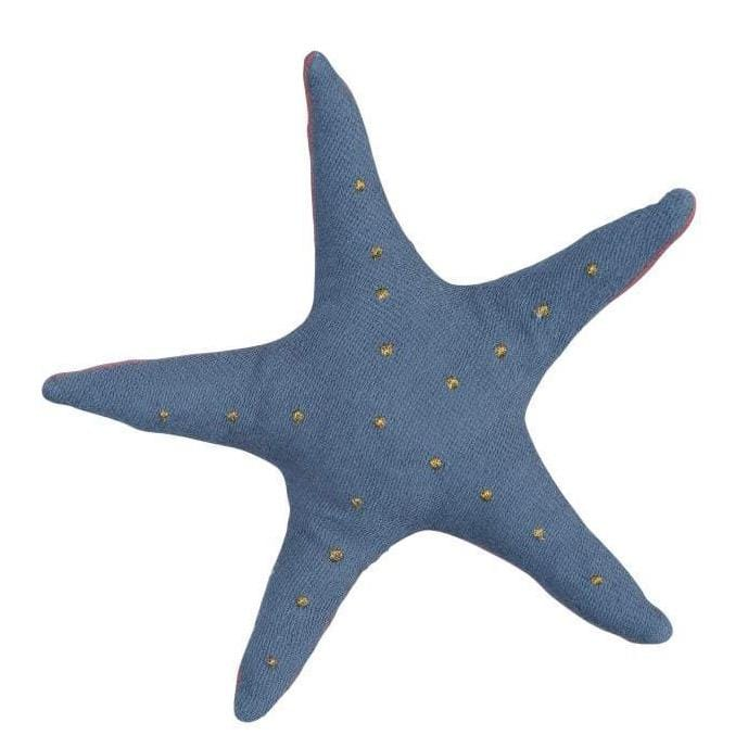 PRE-ORDER: Fabelab Organic Cotton Starfish Baby Rattle - Naked Baby Eco Boutique