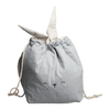 Small / Bunny (Icy Grey) PRE-ORDER: Fabelab Organic Cotton Storage Bags (Multiple Variants) - Naked Baby Eco Boutique