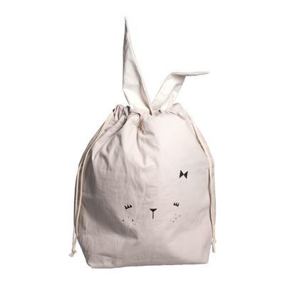 Large / Bunny (Mauve) PRE-ORDER: Fabelab Organic Cotton Storage Bags (Multiple Variants) - Naked Baby Eco Boutique